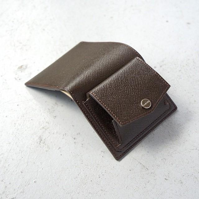 ミニ財布 <Shaula / S - type> チョコレート