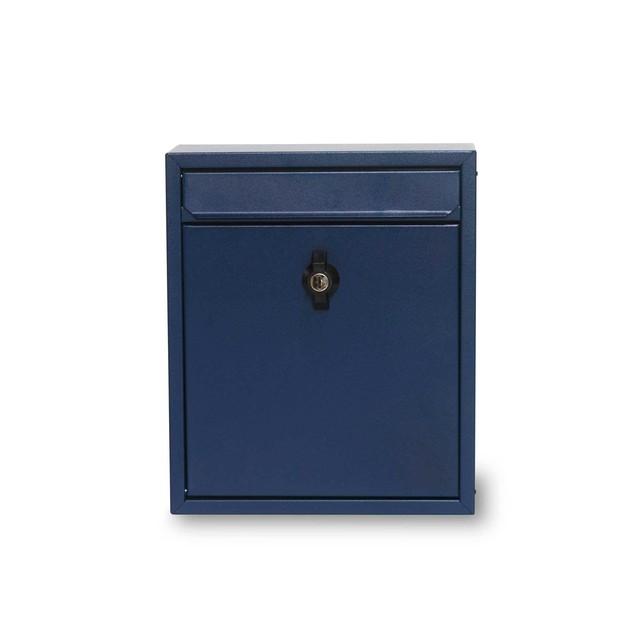 Steel Mailbox Navy