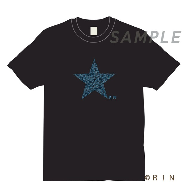 R!N Star T-Shirt Black