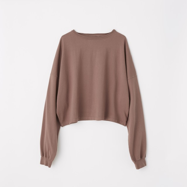 [オンライン限定色]TOMBOY SWEAT SHIRT (cinnamon) TNH17200-03