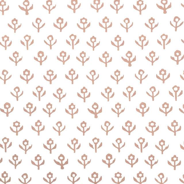 北欧【Ib Laursen】バラ売り1枚 ランチサイズ ペーパーナプキン FLOWERS ROSA ベージュ