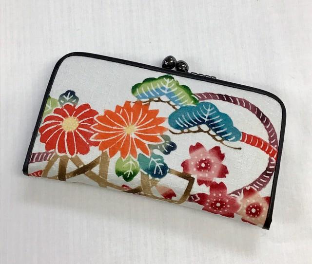 花籠 (がま口財布)