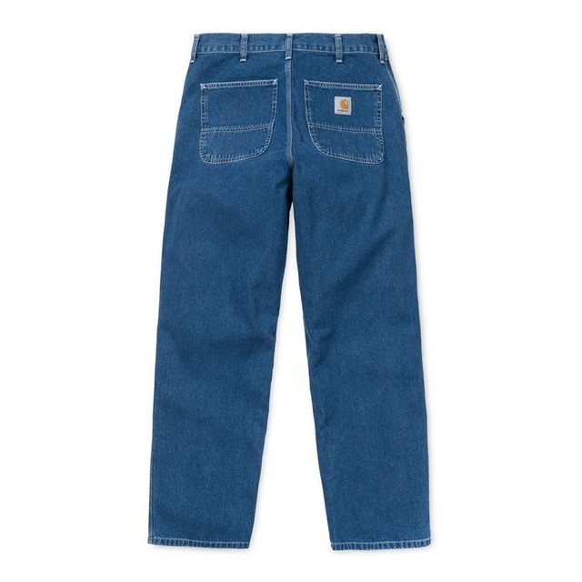 CARHARTT WIP SIMPLE PANT - BLUE STONE(WASHED)