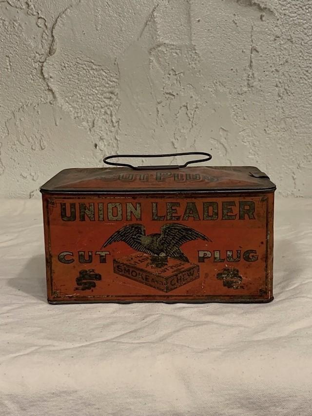 "CIGARETTE CANS "" UNION LEADER """