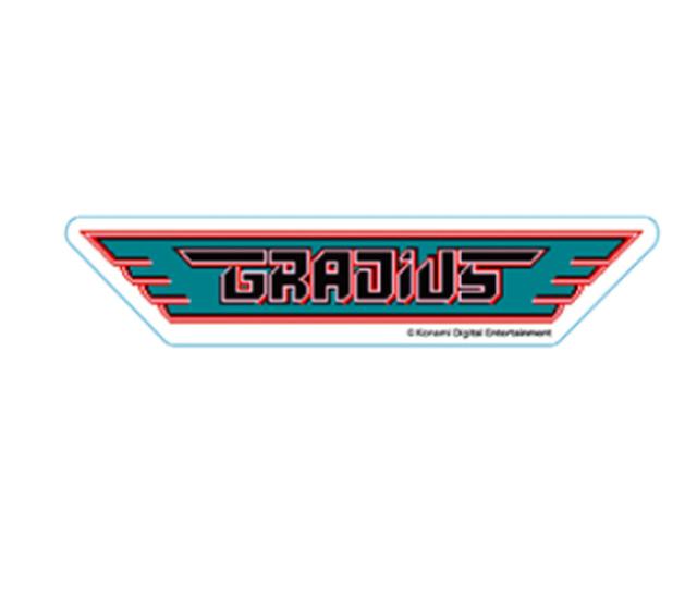 コナミ ロゴステッカー グラディウス / INDOR