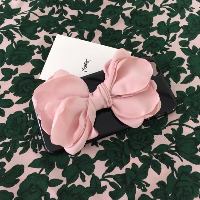 flower ribbon case