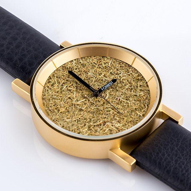 森の腕時計(Gold Forrest)