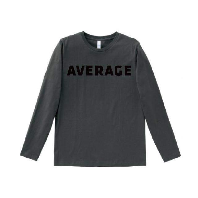 あ、安部礼司 平均的 ロングTシャツ (スモーク)