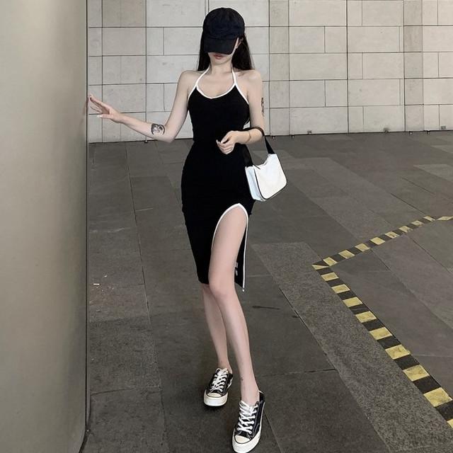 【ワンピース】セクシースリット海外トレンドスリムワンピース目立つ人気セクシーワンピース29260266