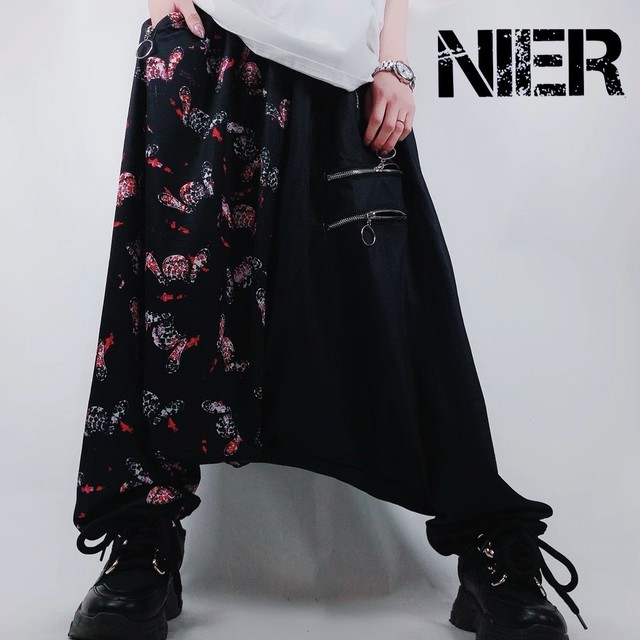 TWO-TONE Sarrouel pants【Sickness】