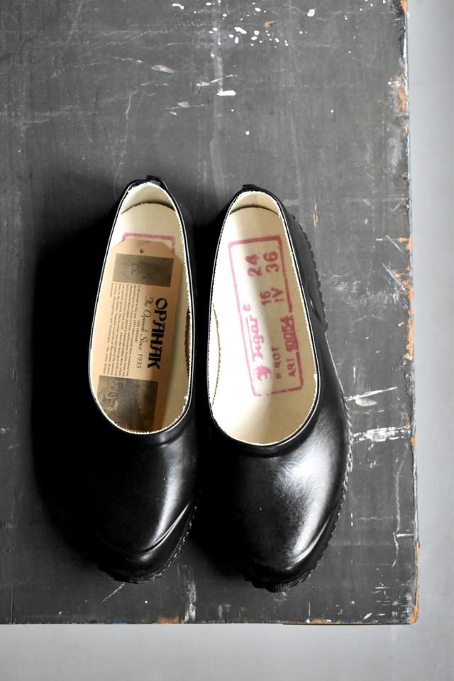 """""""NEW"""" OPANAK rubber shoes """"slip-on"""" 【BLACK】"""