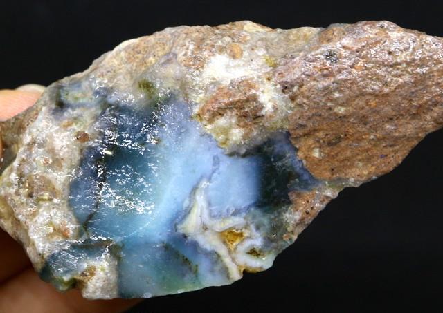 超希少!ニードルズブルーアゲート  36g  BNA009  原石 鉱物 天然石 パワーストーン