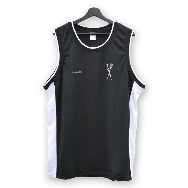 Basketball Shirt …MIM… (JFK-034) - Black