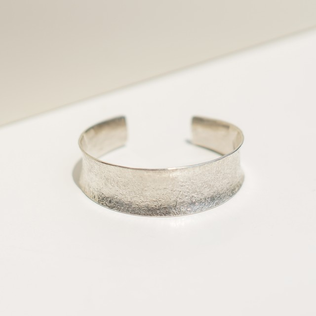 rough textured bangle