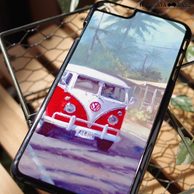 iPhone6Plus / iPhone6s Plusケース [I6PVBA01] VW BUS ALOHA