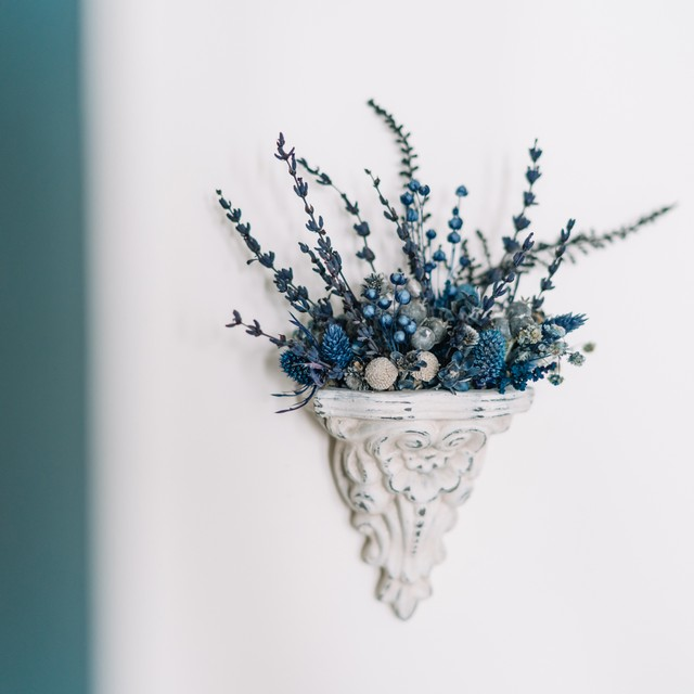 Lili blue|コンソールアレンジ ブルー