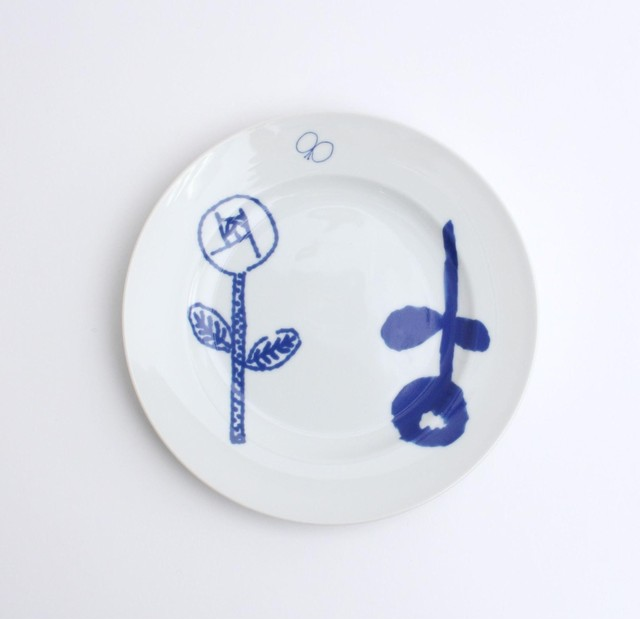 minä perhonen×PASS THE BATON / Remake tableware Plate