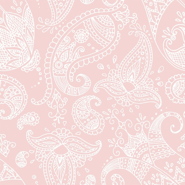 【Paperproducts Design】バラ売り2枚 ランチサイズ ペーパーナプキン PAISLEY ローズ