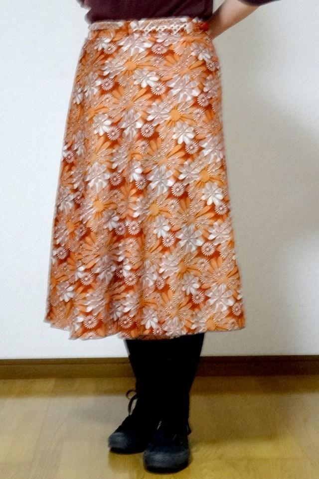 dss-022 シルクサリー巻きスカートショート