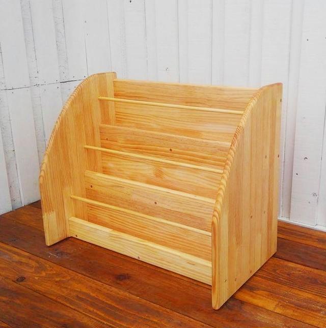 絵本棚 床置き型 3段