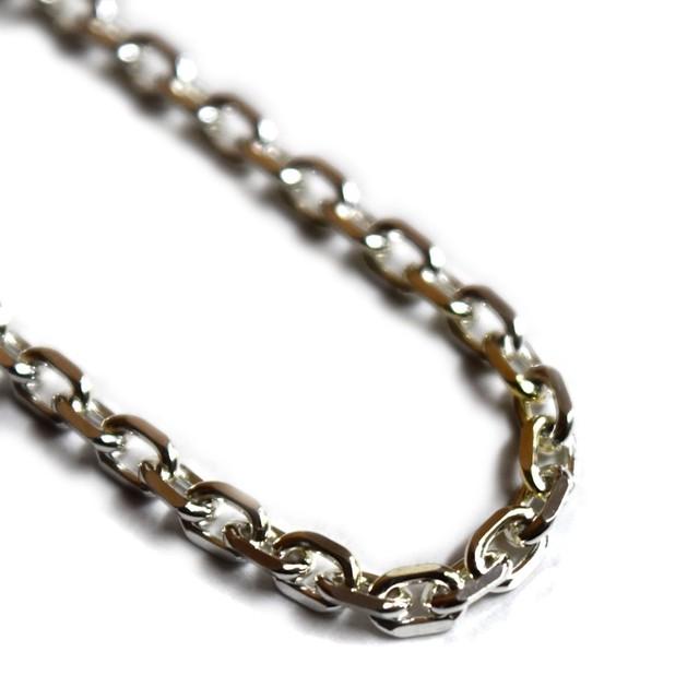 【直営限定】Silver925 2.8mmAZUKI Necklace Chain 40cm/45cm/50cm 【SK4080】