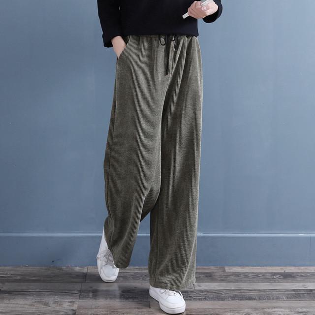 チャイナ風ズボン 民族風 ボトムス ロング丈 改良唐装 中華服 裏起毛 暖か ビリジャン グレー ブラック