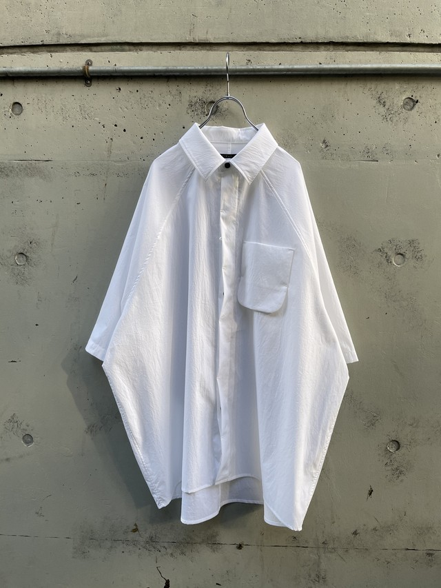 『my beautiful landlet』teckno raglan s/s shirt / WHITE