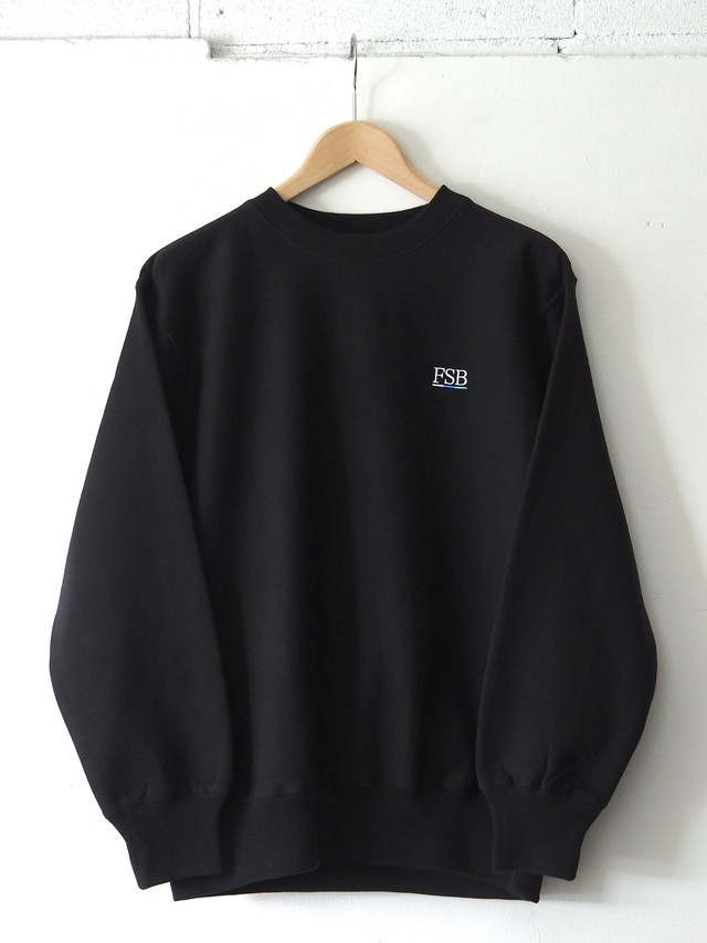 FSB Crew Neck Sweat Color Bar ver. Black