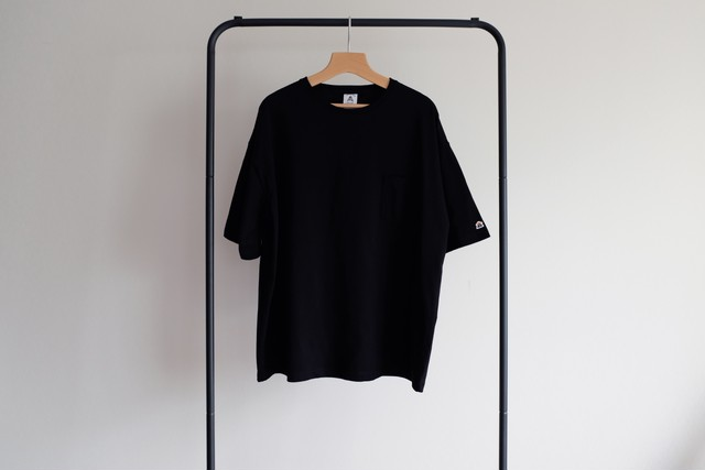 Oversize pocket tee[Black]