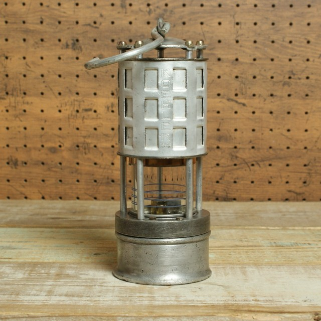 KOEHLER LAMP PERMISSIBLE  FLAME  SAFETY LAMP No.209 / ケーラー 炭鉱ランプ セーフティランプ No.209