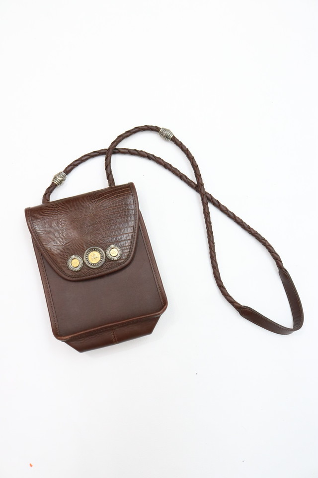 leather shoulder bag / GD11270020
