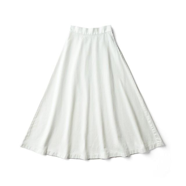 フレアースカート ホワイト