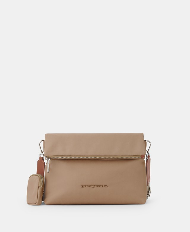 NYLON CROSSBODY WITH ZIP CLOSURE [212601557211]