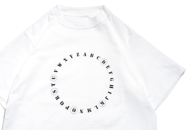 """【kudos】""""QUIS"""" T-Shirt WHITE"""