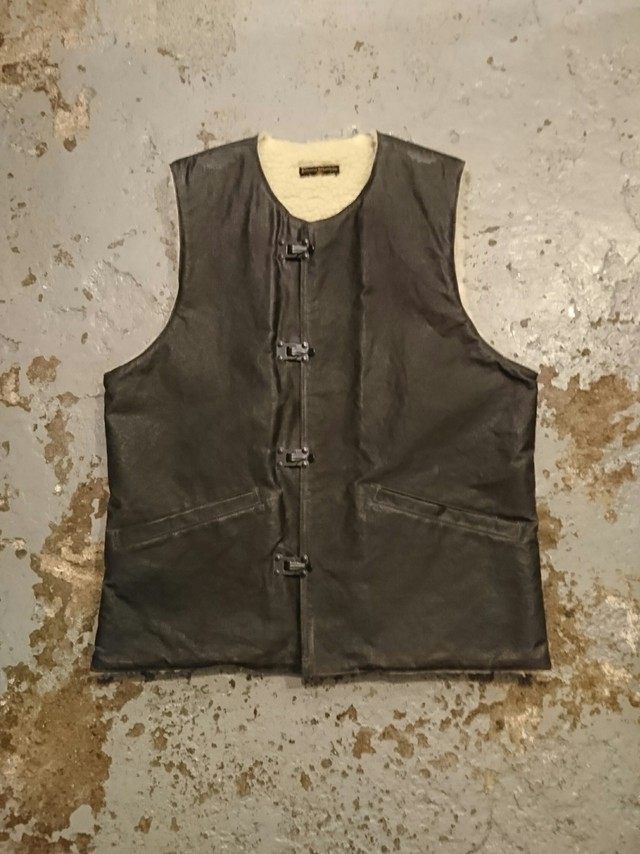 "BAA COSTUME MFG. ""WAXED HOOK BOA VEST"""