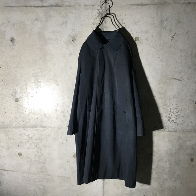 Cコース 選択品[Burberry]Navy simple long coat
