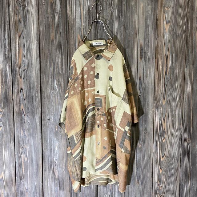 [used]rétro pattern shirt