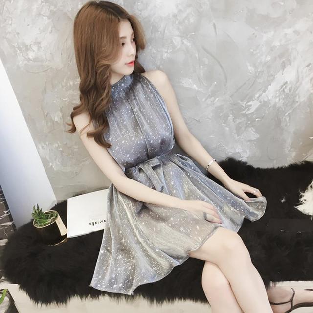 【dress】切り替えしカジュアルゆったり簡約ワンピース