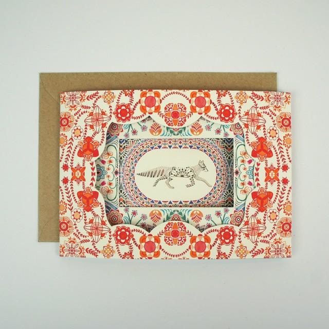 Ellipsometry - Illustrated Fox Card