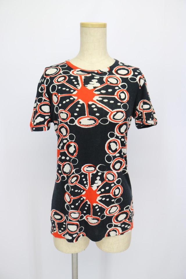 print design t-shirt / RED×NYV