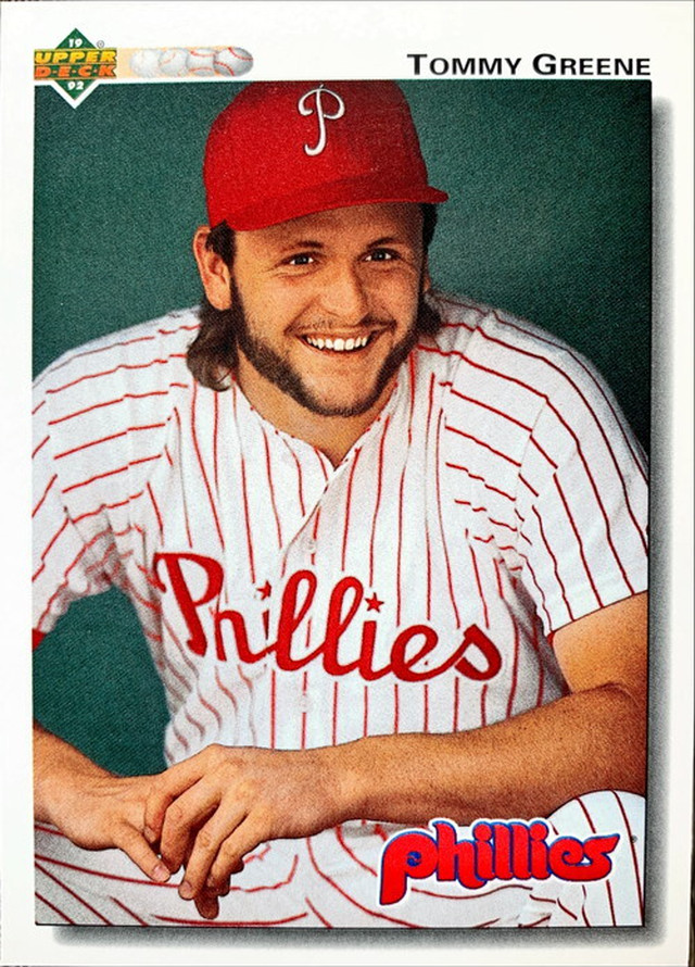 MLBカード 92UPPERDECK Tommy Greene #567 PHILLIES