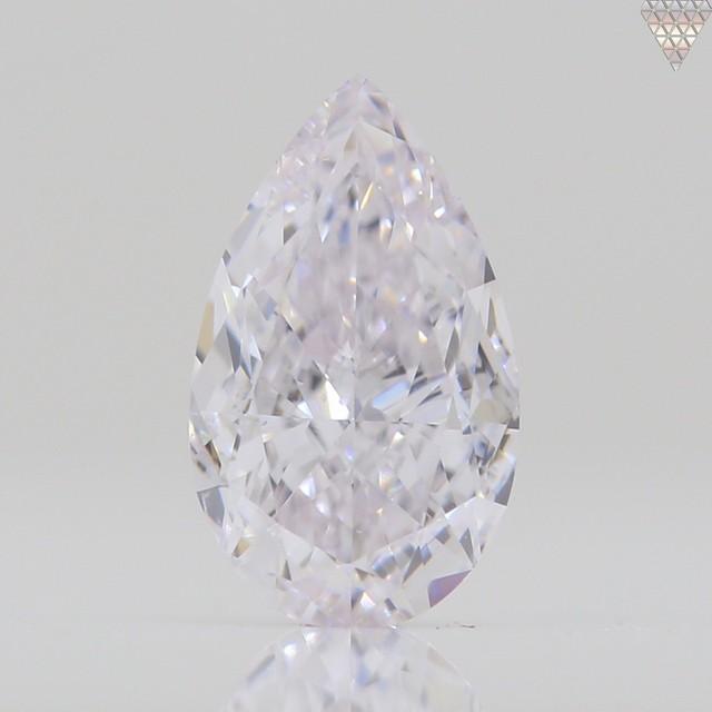 0.38 ct FAINT  PINK VS1 PEAR GIA 天然  ダイヤモンド ルース