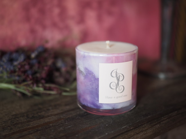 Marble Aroma Candle 1
