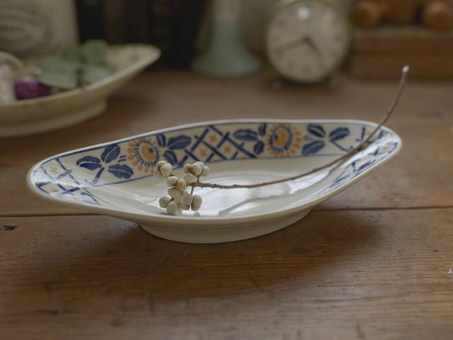 サルグミンヌ製 ひまわり絵柄のラヴィエ(B) フレンチブロカント