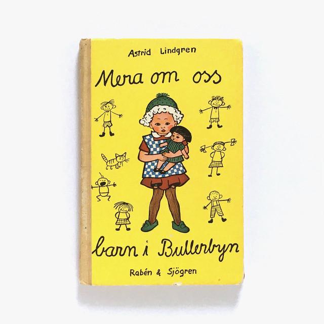 アストリッド・リンドグレーン「MERA OM OSS BARN I BULLERBYN(やかまし村の春夏秋冬)」《1949-01》