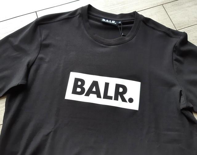 ボーラー BALR 半袖 Tシャツ クルーネック ロゴ Tシャツ BLACK B10002