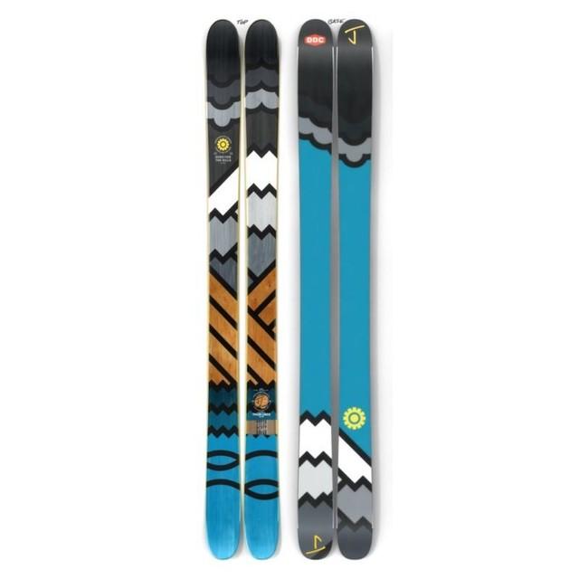 【予約】J skis - オールプレイ「スィックライン」DDC x Jコラボ限定版スキー【特典付き】