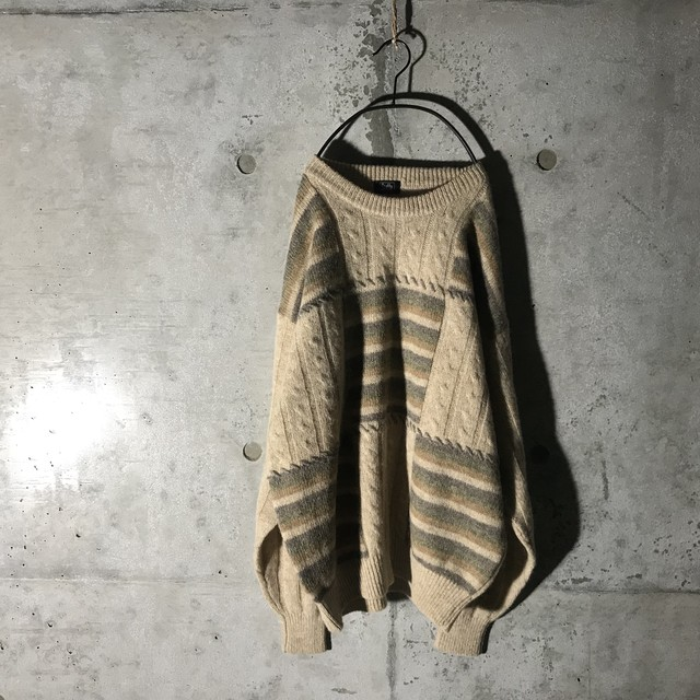 [used]boxes design knit