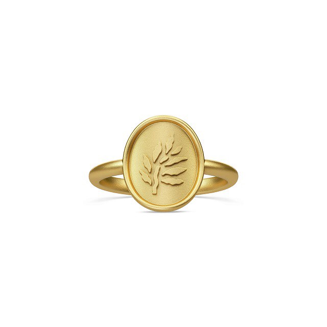 JULIE SANDLAU ICON PINKY RING