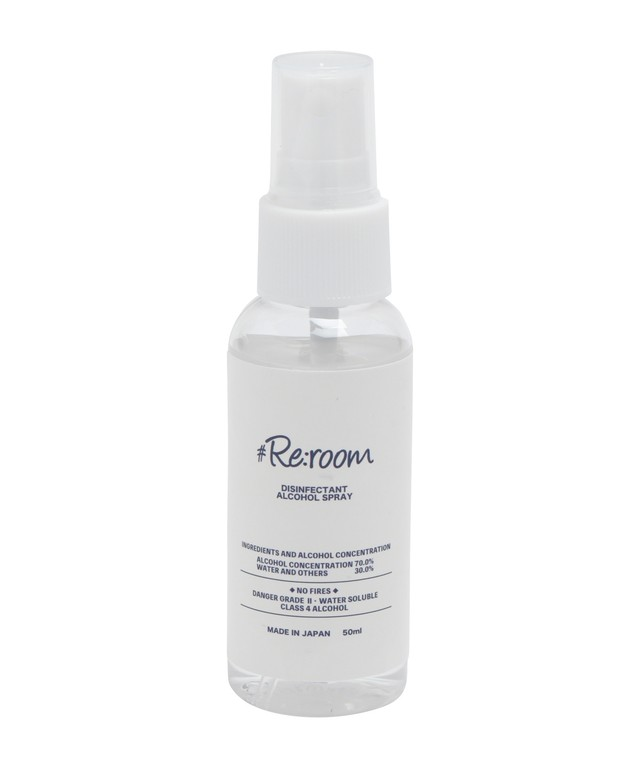 #Re:room HAND CLEAN ALCOHOL SPRAY[REG124]